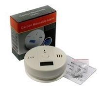 detector de humo y gas monoxido de carbono