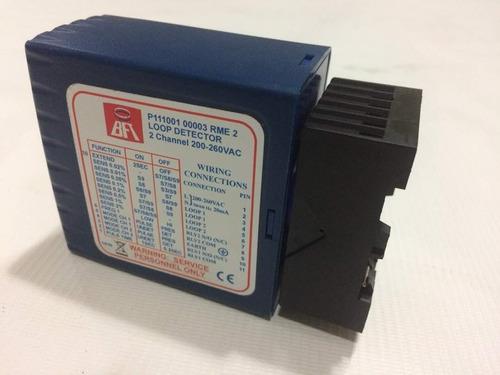 detector de masas metálica con módulo 24v bft