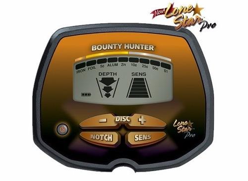 bounty hunter lone star pro metal detector manual