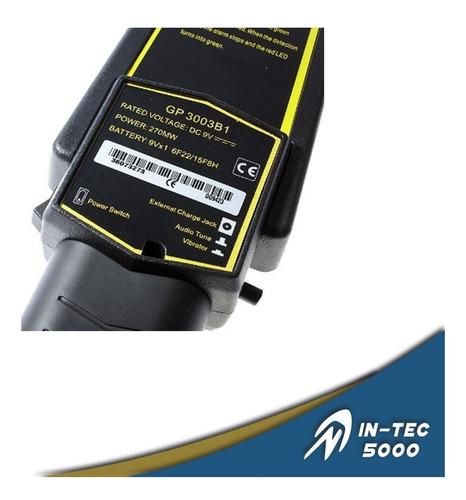 detector de metal de mano zkteco