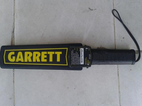 detector  de metal  garrett  original