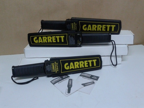 detector de metal manual garret
