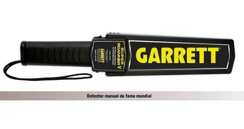 detector de metal manual (garrett)