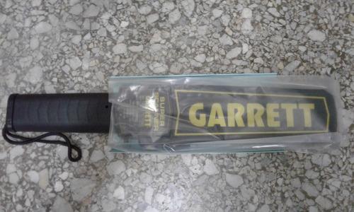detector de metal manual portail marca garrett