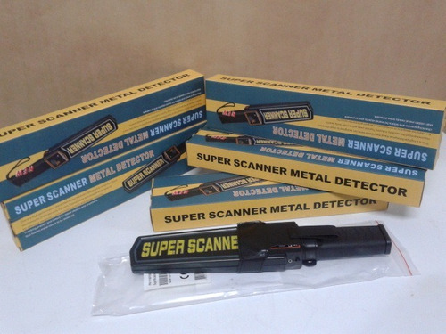 detector de metal manual super scanner
