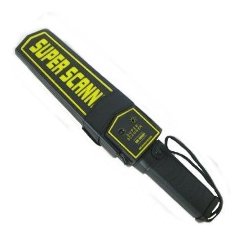 detector de metal portátil batería 9v recargable + cargador