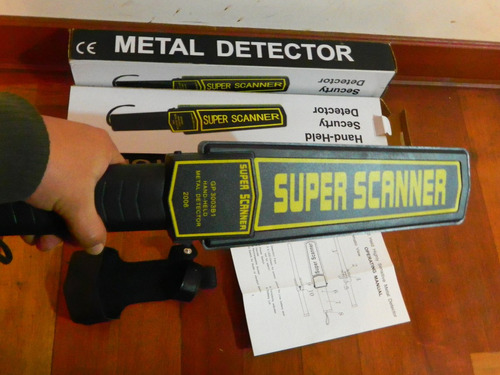 detector de metal super escaner
