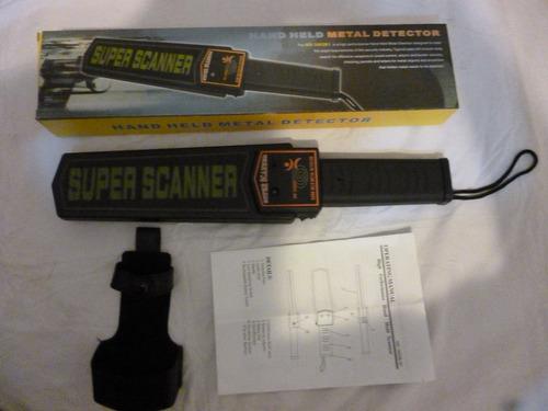 detector de metal y celulares super escaner md -3003b1