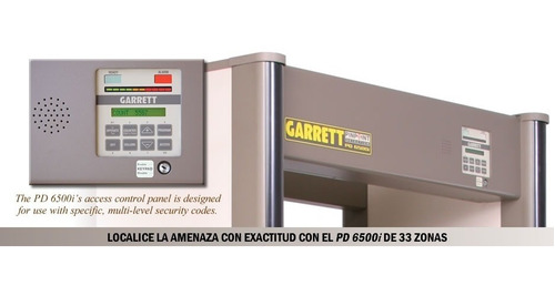 detector de metales arco garrett pd6500i