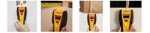 detector de metales cables madera digital 9v zircon ms i520