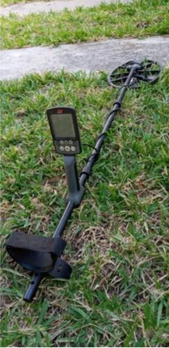 detector de metales, equinox 800, batería recargable