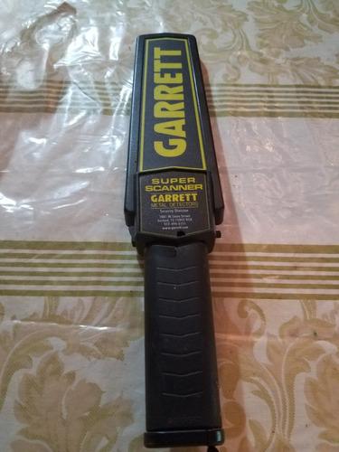 detector de metales garret manual, 50