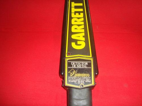 detector de metales garrett