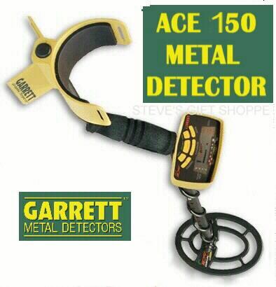 detector de metales garrett ace150 joyas tesoros oro playa $
