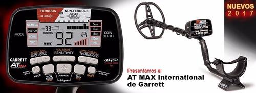 detector de metales garrett at max internacional dist of.
