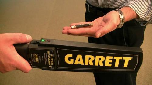 detector de metales garrett modelo super scanner v