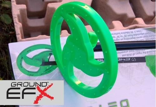 detector de metales ground efx mc1 cyclone niños plata oro