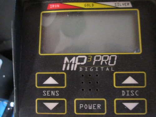 detector de metales mp3 pro dijital 12/5 khz de potencia oro