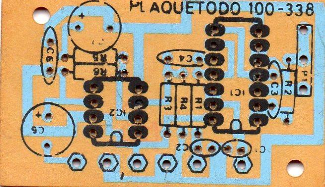 Plaquetodo circuitos