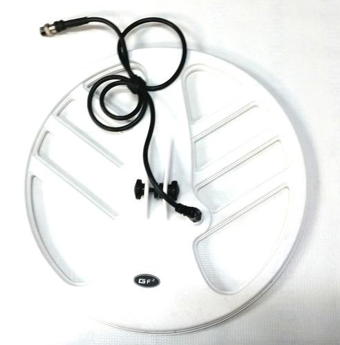 detector de metales profesional gf2 con bobina de 11 y 15