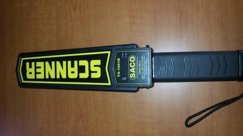 detector de metales saco scanner corporal 66d somos tienda -