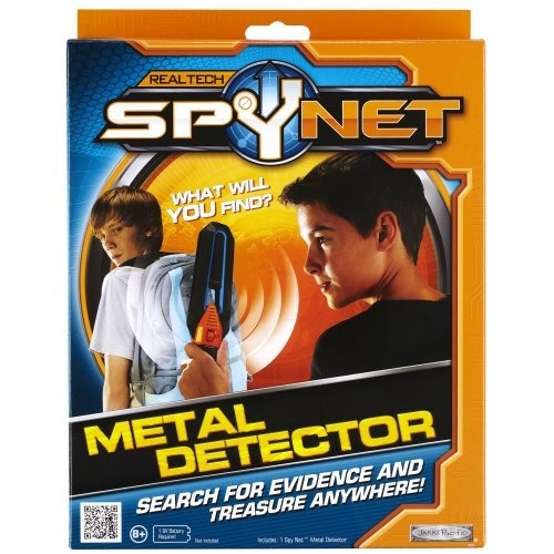 detector de metales spy net