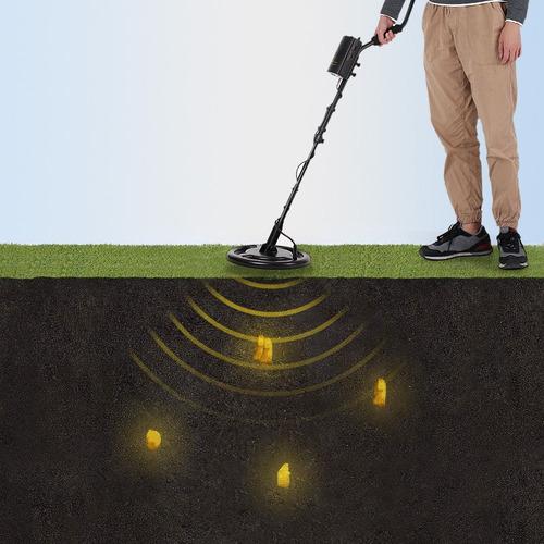detector de metales subterraneo profesional 1.5 metros