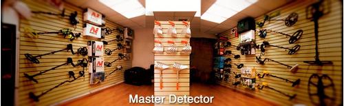 detector de metales y tesoros gti2500 6 metros profundidad