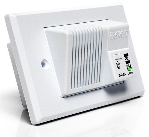 detector de monoxido de carbono y gas garantía 5 años