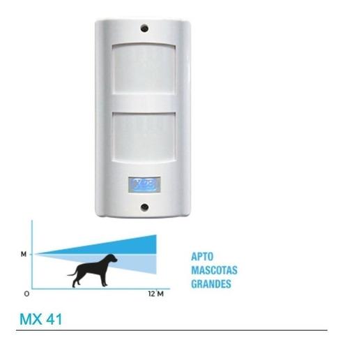detector de movimiento exterior x28 modelo mx41 pet