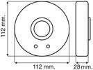 detector de movimiento para techo pasillos 10 a rbc sitel