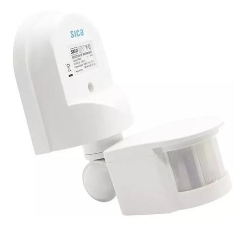 detector de movimiento pared blanco 180º 1200w 8m sica