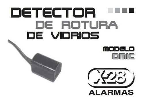 detector de rotura de vidrios x-28