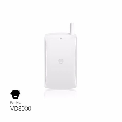 detector de vibracion smanos vd8000 inalambrico 100m