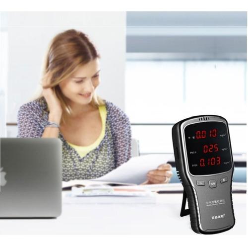 detector e medidor de qualidade do ar identificador wireless
