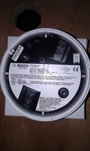 detector fotoelectrico de humo bosch f220-p b6ps