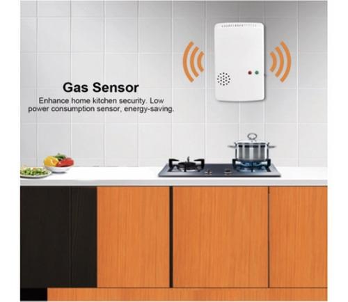 detector fuga de gas metano butano sensor alarma