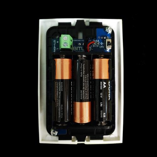 detector fugas de gas lp y natural baterías de respaldo b1+