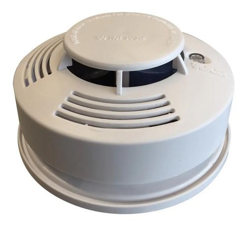 detector humo alarma sonora autónomo bateria 9v sensor