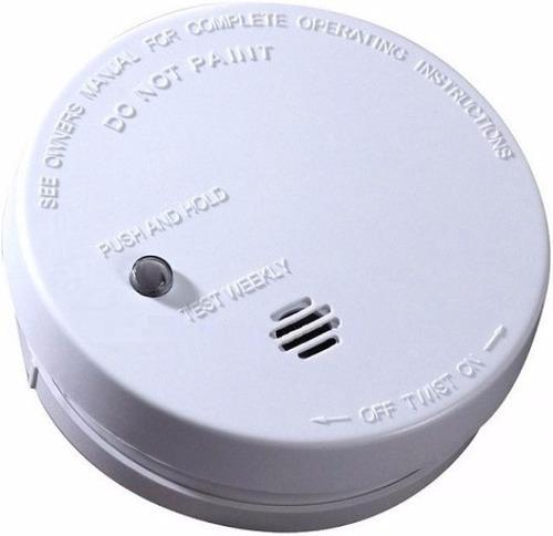 detector humo autonomo inalámbrico por ionización sello ul