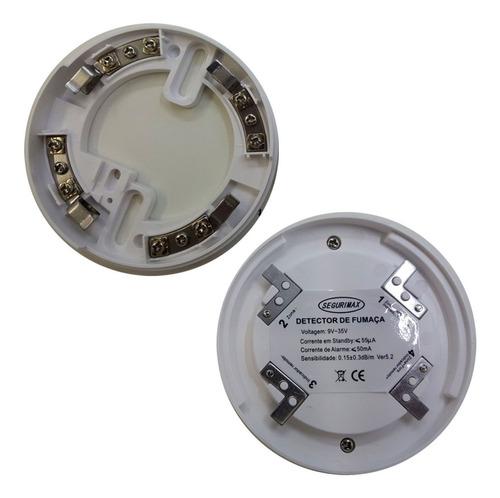 detector incêndio fumaça 12v/24v nbr17240 oferta c4