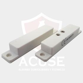 Detector Magnetico Cableado De Alarmas Domiciliarias, Sensor De Puerta Y Ventana Para Alarma De Casa Dsc X28 Cem Alonso