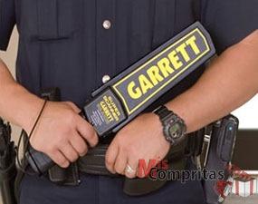 detector manual de armas y metales súper scanner garrett