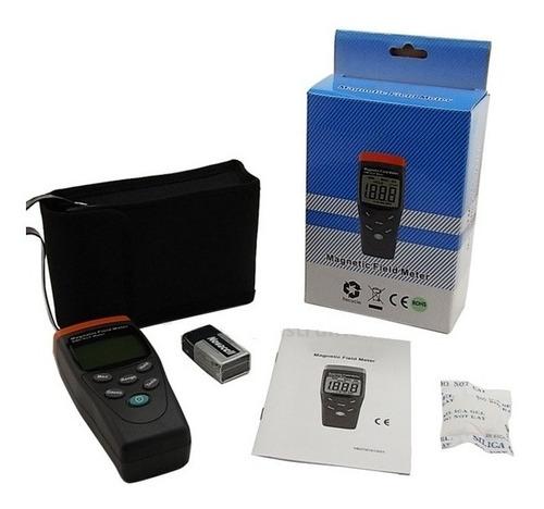 detector medidor de campo electromagnético mg