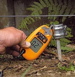 detector, medidor tester alto voltage para cercas eléctricas