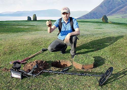 detector metales nokta fors core 5mt reliquia huaca oro mina