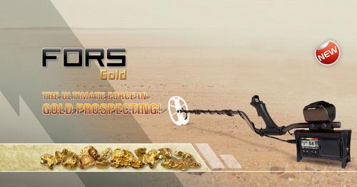 detector metales nokta fors gold 5mt oro mina rio kit combo