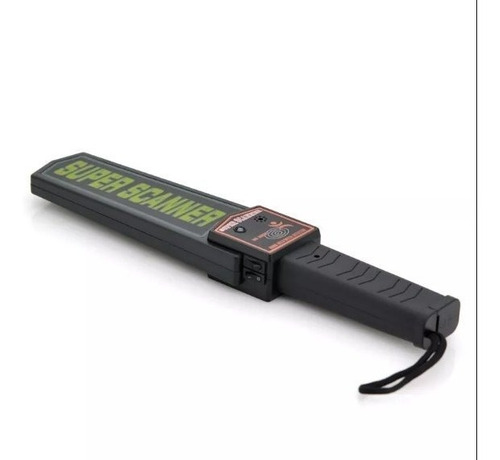 detector metales super scanner tipo raqueta  30 lechugas