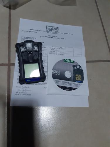 detector multigas msa, modelo altair 4x