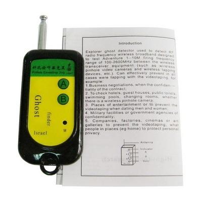 detector ocultado rf ghost signal bug finder scanner